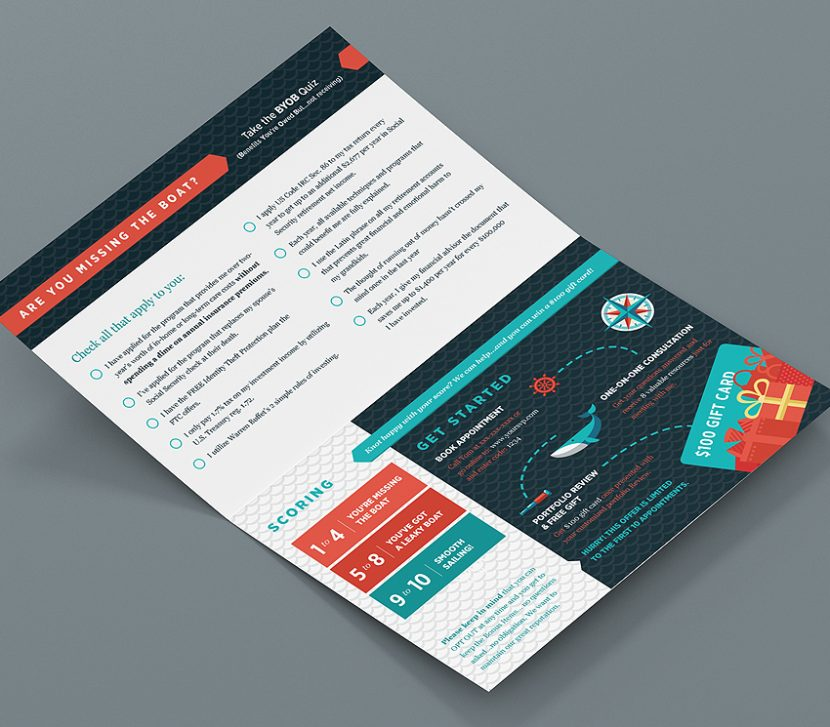 5Q Group Direct Mail Promotion