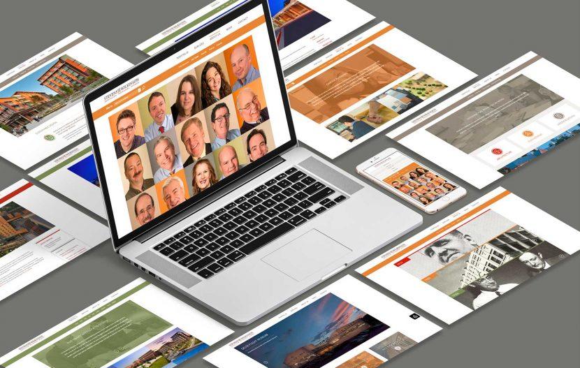 Stevens & Wilkinson Website Design
